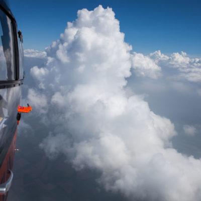 Christoph 13 über den Wolken